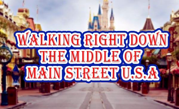 Main Street USA Magic Kingdom Walt Disney World Resort