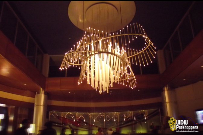 Top of the World Lounge Chandelier Bay Lake Tower Magic Kingdom Walt Disney World