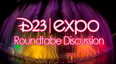 Disney D23 Rountable - Amanda Tinney, Sarah-Irene Donahue, Ricardo Rodriguez, Tony Caselnova, John Donahue
