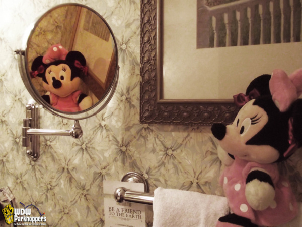 Reflections of Minnie Mouse at Grand Floridian Resort Walt Disney World Resort