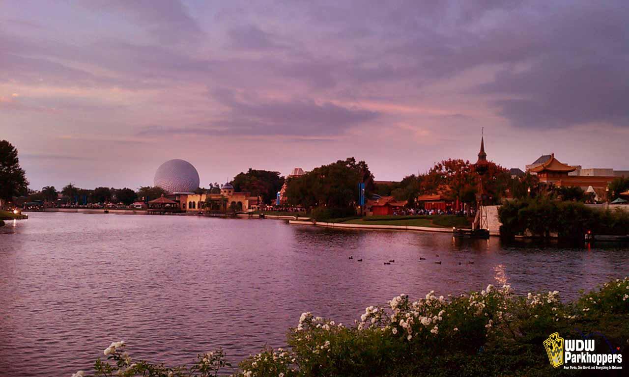 World Showcase Lagoon at Disney's Epcot Resort