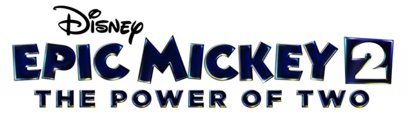 Epic Mickey 2: The Power of Two Disney video game with Mickey Mouse, Oswald the Lucky Rabbit
