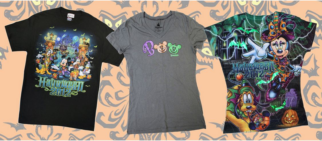 disneyland and walt disney world theme parks new halloween 2012 merchandise