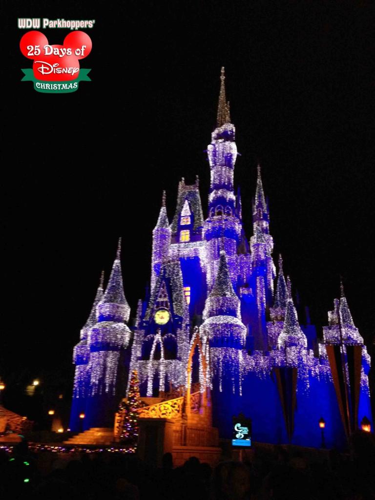 Cinderella Castle Christmas.25 Days Of Disney Christmas Day 2 Cinderella Castle At
