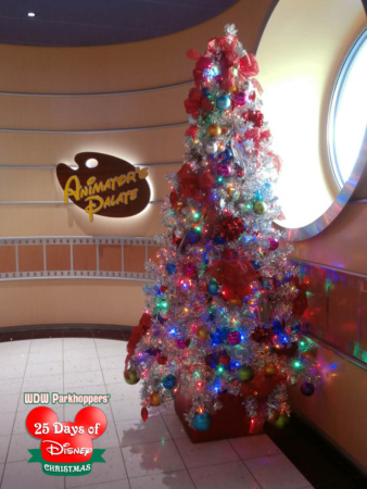 the disney parks and resorts but its even more magical on one of the disney cruise line ships here are some of the amazing christmas trees from the - Disney Christmas Trees