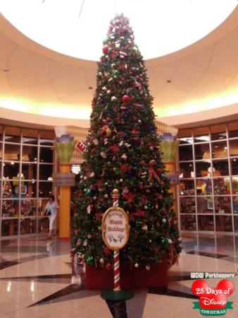 Pop Century Christmas Tree