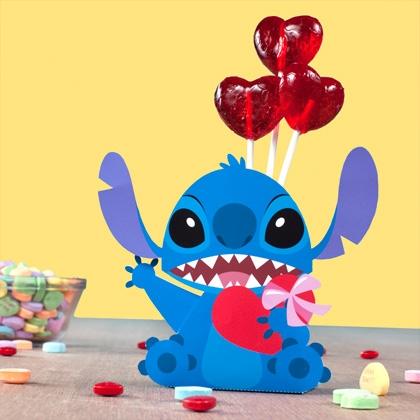 Stitch is the most adorable alien you'll ever find, and a personal favorite of Parkhopper John's! So this Valentine's Day, share him with someone you think is out of this world!