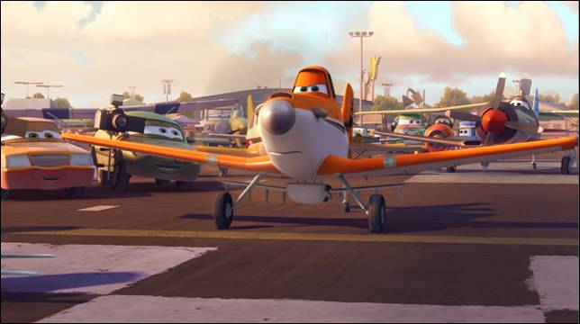 """Dane Cook Tapped to Voice """"Dusty"""" in DISNEY'S PLANES!"""