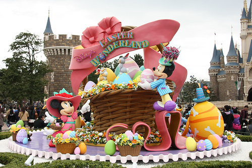 """There's a special weeklong Easter celebration planned for you as part of """"Limited Time Magic"""" at the Walt Disney World Resort and Disneyland Resort."""