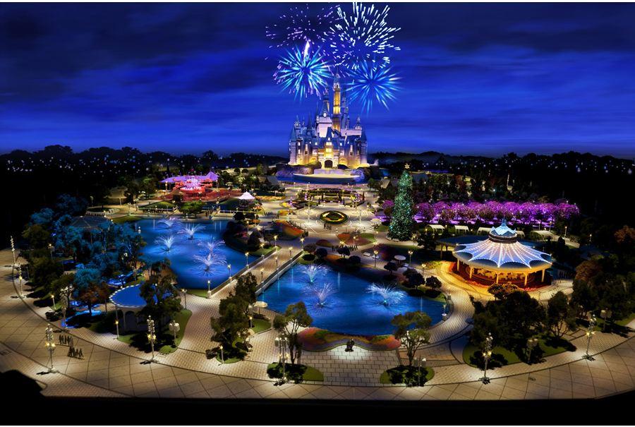 Shanghai Disneyland Model Unveiled