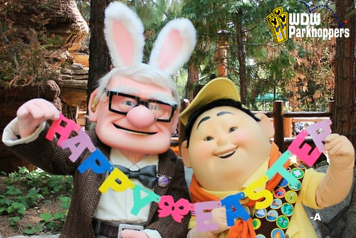Disneyland and Disney's California Adventure parks have some egg-citing events happening all week to celebrate Easter.