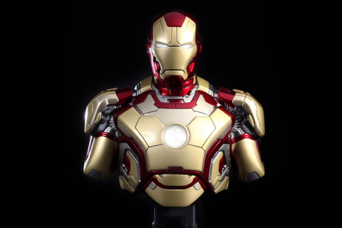 """Come check out Iron Man Tech Presented by Stark Industries at Innoventions in Disneyand park, and don't miss """"Iron Man 3"""" when it opens in theaters May 3!"""