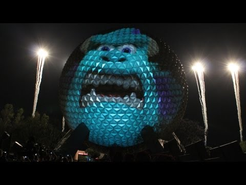 Mike Wazowski stopped by Epcot at Walt Disney World Resort this evening to help make an extra special eye-nouncement.