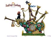 Sneak Peek - 'Disney Festival of Fantasy Parade' Floats at Magic Kingdom Park