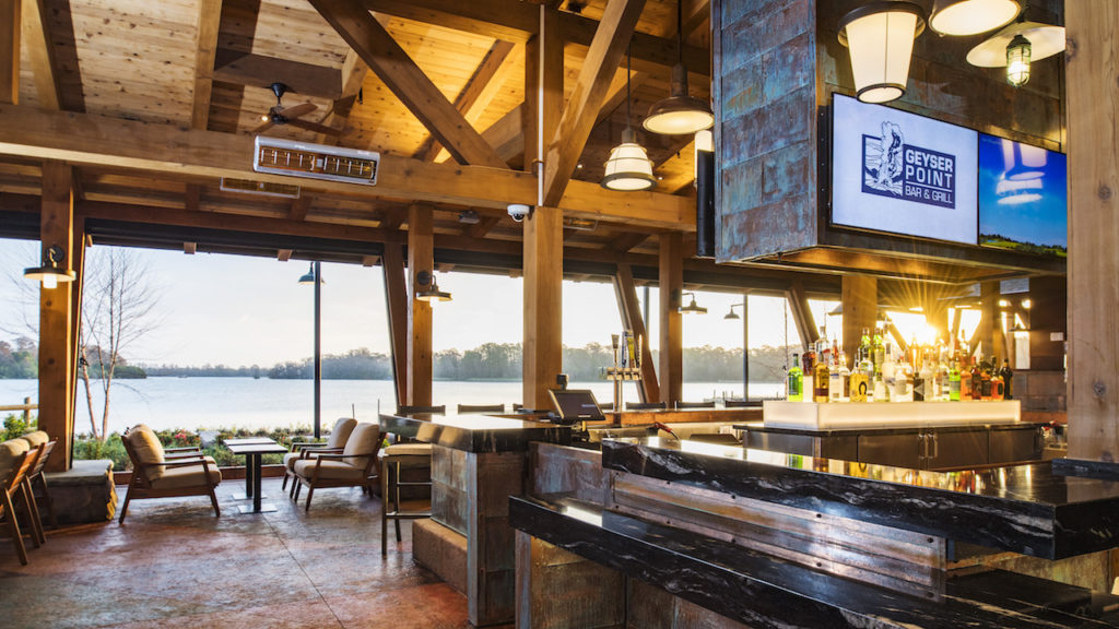 Rumors Bar And Grill >> Geyser Point Bar & Grill Opens at Disney's Wilderness ...