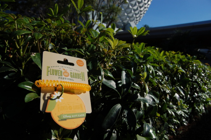 Celebrate the 2017 Epcot International Flower & Garden Festival with a limited-edition, orange-scented Disney Gift Card!