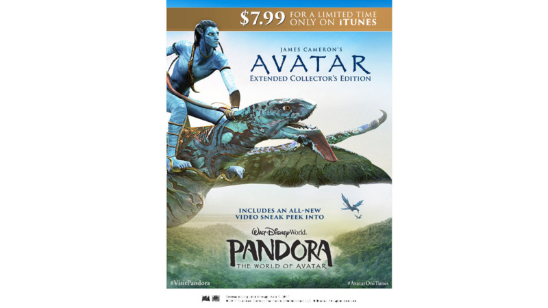 iTunes is Celebrating the Opening of Pandora – The World of Avatar