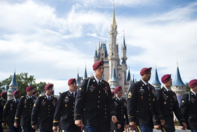 Walt Disney World Resort Honors the Centennial of the United States Army 82nd Airborne Division in Magic Kingdom Park