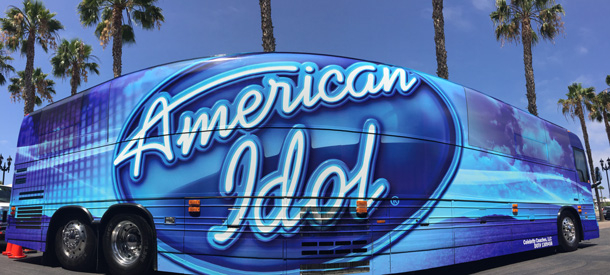 'American Idol' Bus Tour Visits Disney Springs for Open Auditions