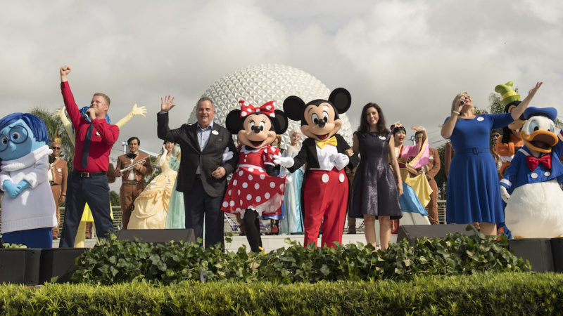 Epcot Celebrates 35 Years With Disney Characters, Voices of Liberty & More