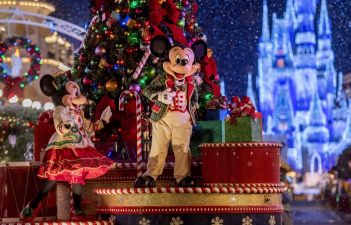 Celebrate The Most Wonderful Time of the Year with Mickey's Very Merry Christmas Party