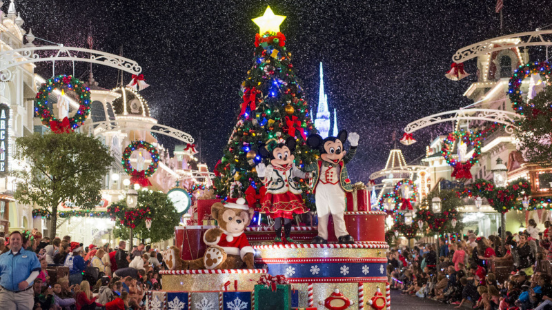 Celebrate the Holidays With Disney At 2017 'Very Merry' Blog Party at Magic Kingdom Park